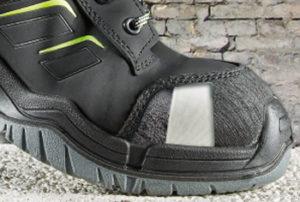 Zehenschutzskappen in Sicherheitsschuhen von Elten®