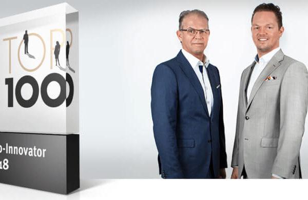 Top-Innovator 2018 Banner mit Geschäftsführern