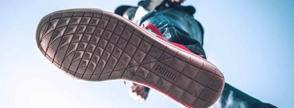 Schuhsohle Puma® von unten