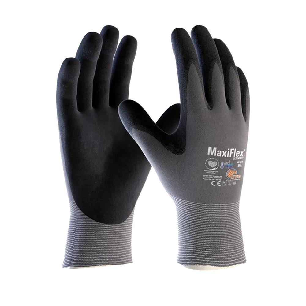 "Nylon-Montagehandschuhe 42-874 ""MaxiFlex® ultimate™ AD-APT®"" - ATG®"