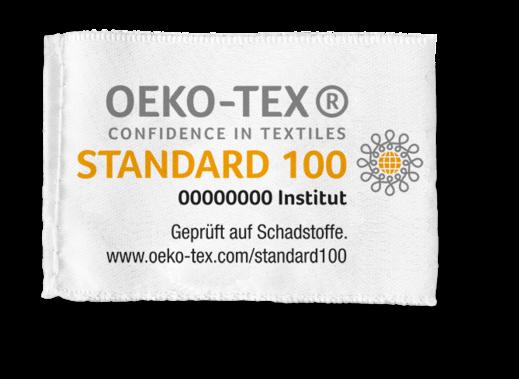 OEKO-TEX® Stofflabel
