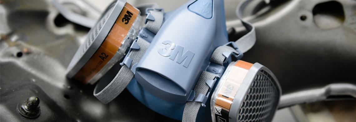3M® Gasmaske mit Kombifilter